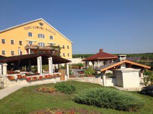 Egri Korona hotel wniniarnia
