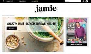 Strona magazynu Jamie Magazine