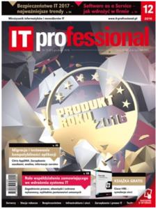 Okładka magazynu IT Professional nr 12/2006