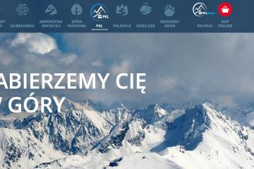 Strona internetowa PKL, Polskie Koleje Linowe