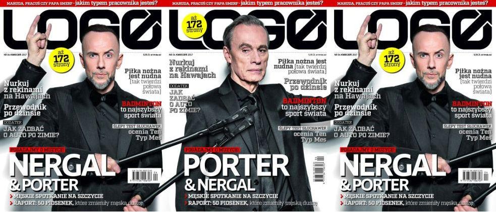 Magazyn Logo nr 04/2017 Adam Nergal Darski i John Porter