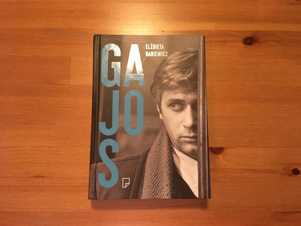 książka Janusz Gajos Elżbieta Baniewicz