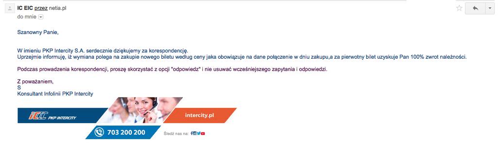 PKP Intercity wiadomos eBOK K190238 2