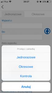 Aplikacja SkyCash kontrola bilety jednorazowe okresowe koleje regionalne