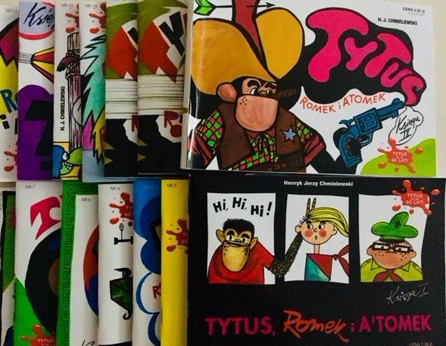 Komiks Tytus Romek i A'Tomek księgi I-XXX