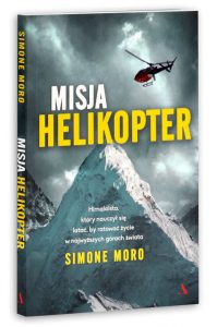Misja helikopter autor Simone Moro himalaista, pilot.