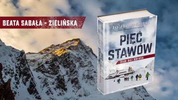 Książka Pięć Stawów. Dom bez adresu, Beata Sabała-Zielińska